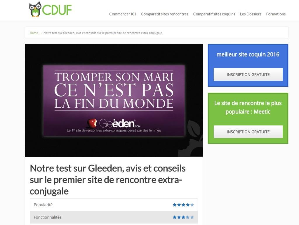 comparatif sites de rencontres 2017